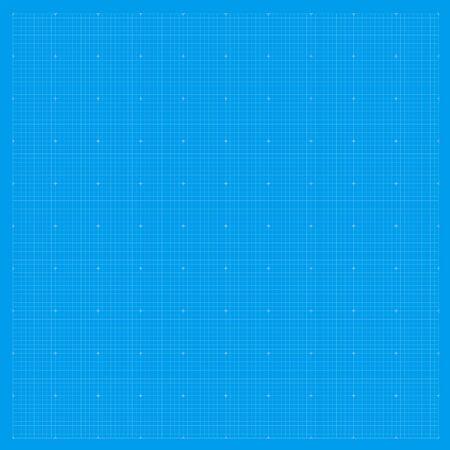 Blueprint background grid. Blue paper graph metric pattern. Blueprint drawing texture. Stock fotó - 133702402