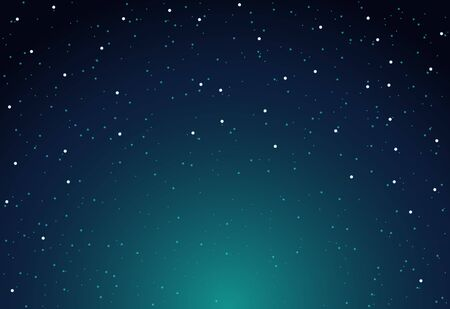 Vector sky star background night. Starry space universe wallpaper.  イラスト・ベクター素材