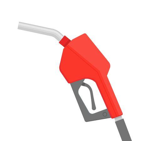 Fuel pump petrol icon. Gas pump gun logo vector pipe gasoline  イラスト・ベクター素材