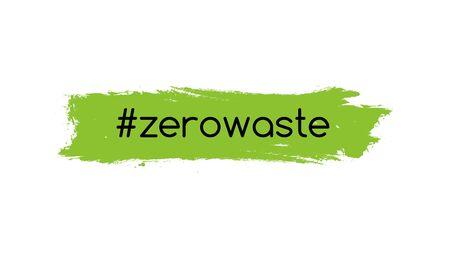 Zero waste logo icon. Reduce reuse vector eco green logo symbol.