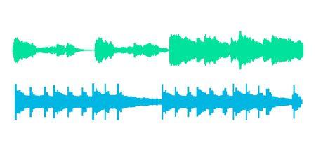 Seismogram earthquake seismic graph diagram. Seismometer or sound waves vibration richter activity