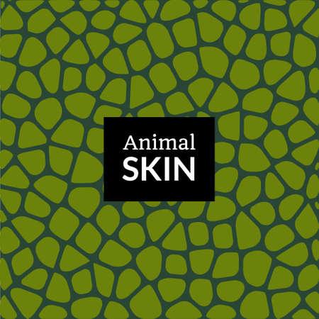 Animal skin texture pattern. Elephant crocodile snake or reptile vector skin texture print