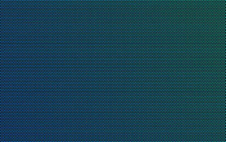 Led screen texture dots background display light. TV pixel pattern monitor screen led texture Ilustración de vector