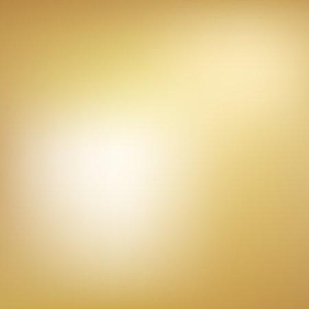 Gold background gradient foil vector yellow texture. Smooth gold gradient blur metallic 向量圖像