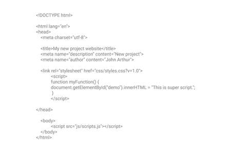 HTML screen code program developer background. Computer web interface html code vector Ilustração Vetorial