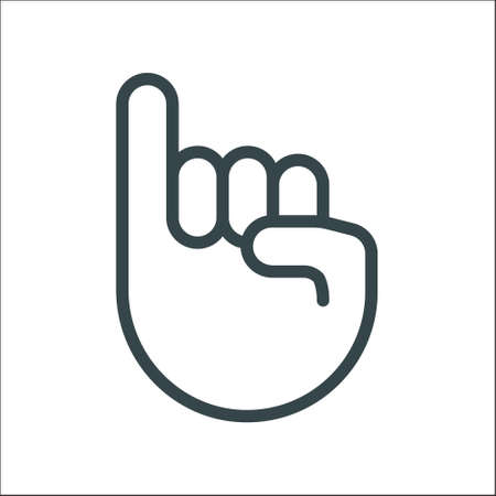 Pinky promise icon finger vector trustworthy swear cooperation friendship. Pinky promise emoji 向量圖像