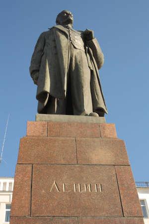 insurrection: Ulyanov Lenin monument Ivanovo