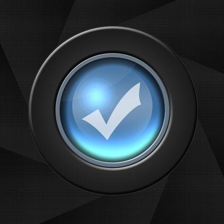 web survey: Compruebe el icono