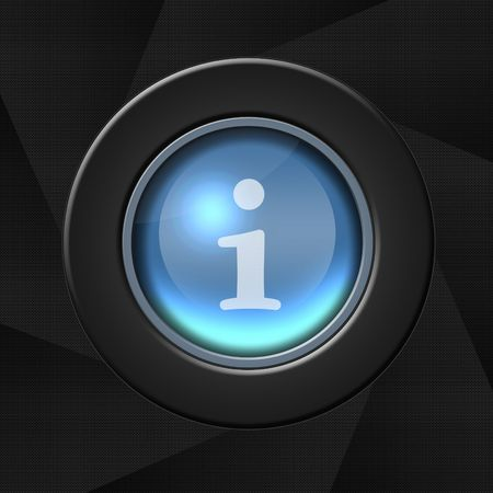 Internet blue icon over aperture style background