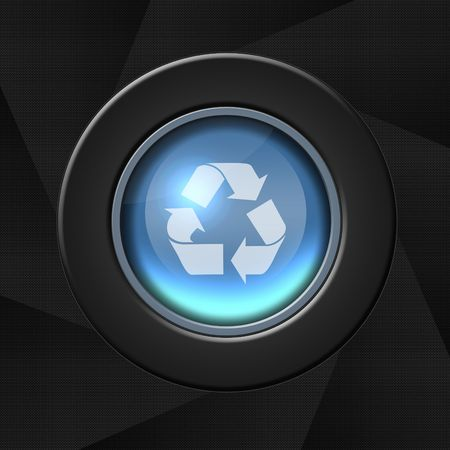 Recycle, reload or refresh icon Stock Photo