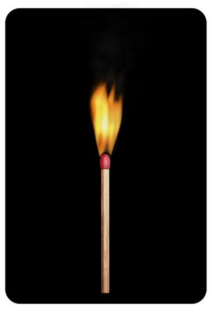 Safety match Stock Photo