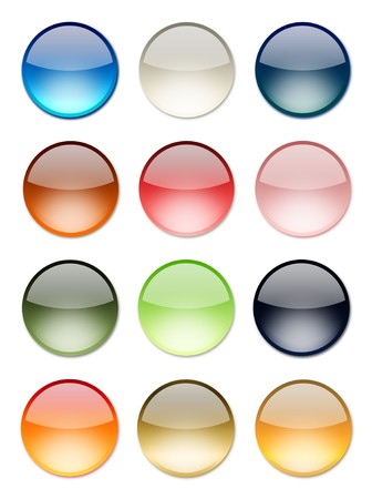 Shiny button set