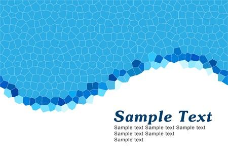 Simple blue template