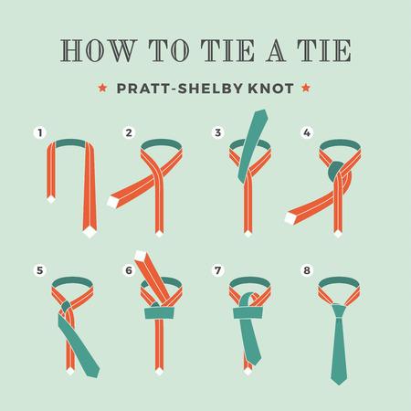 nudo: Las instrucciones de c�mo atar un lazo en el fondo de la turquesa de los ocho pasos. Nudo de Pratt-Shelby.