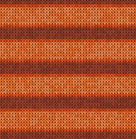 Knitting classic geometric pattern. Knitted realistic seamless background, texture. Vector seamless background for banner, site, greeting card, wallpaper. Vector Illustration