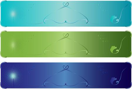 Web stylish banners Stock Vector - 6122420