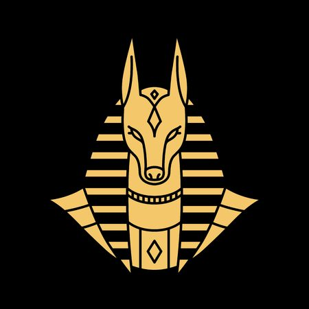 anubis logo vector illustration