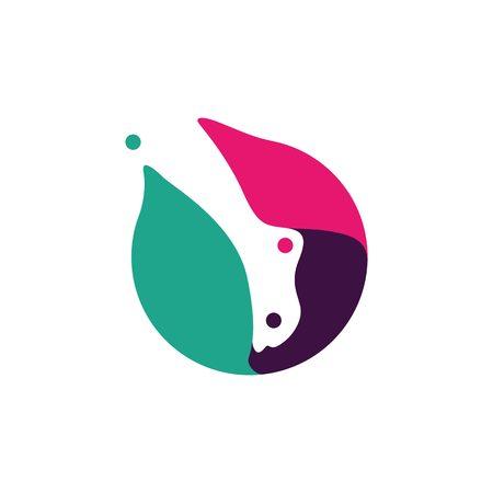 foot feet podiatry podiatrist podiatric logo vector icon