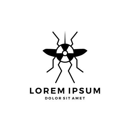 mosquito logo vector icon