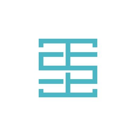 t5t letter tst logo vector initial