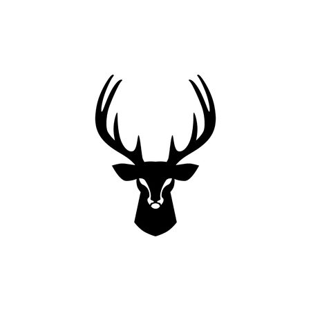 deer head logo vector design inspirations 矢量图像