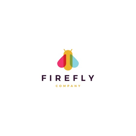 Firefly icon design Banque d'images - 108774341