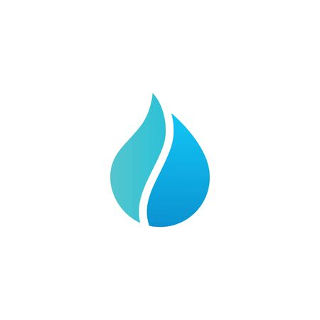 pure water drop logo vector icon illustration Banque d'images - 127913825