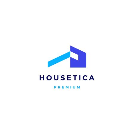 Maison maison hypothèque toit architecte logo icône vector illustration Logo