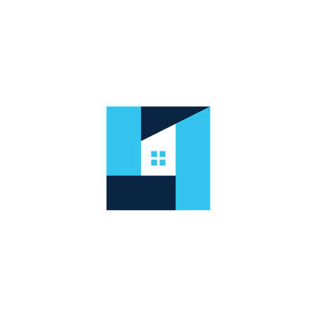 house home mortgage roof architect  vector icon illustration Illustration