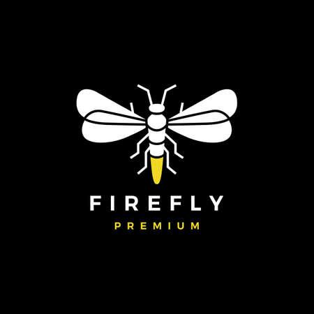 firefly logo vector icon illustration Ilustração