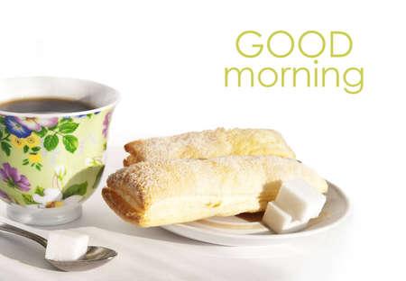 Breakfast, good morning illustration