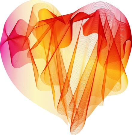 Beautiful Valentine Stock Vector - 13009090