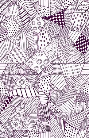 ornate seamless pattern, beautiful illustration Stock Vector - 13009086