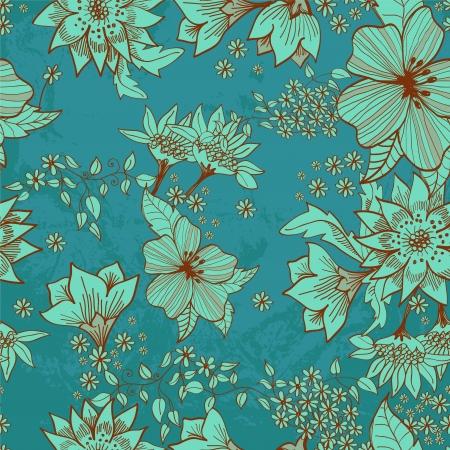 Seamless tender floral background for design Stock Vector - 17141578