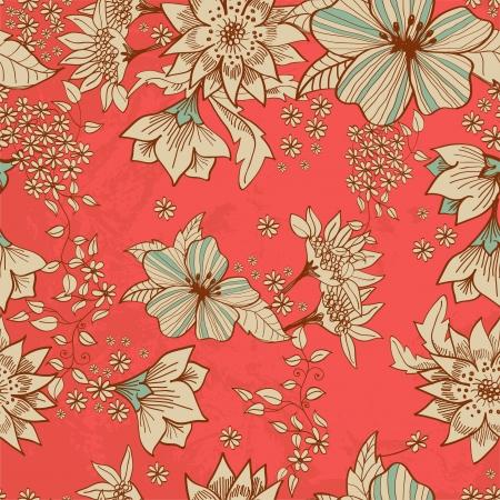 Seamless tender floral background for design Stock Vector - 17141577