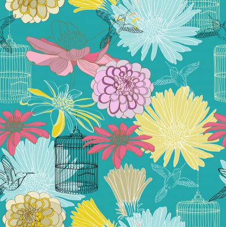 seamless floral pattern for design Stock Vector - 17209763