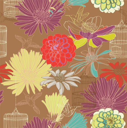seamless floral pattern for design Stock Vector - 17209761