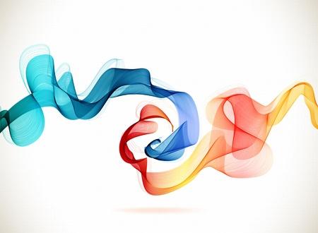 Abstracte achtergrond blauw en rood, ijs en vuur voor het ontwerp