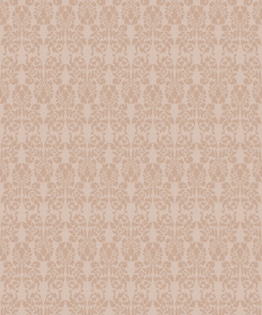 Seamless vintage floral background for design Stock Vector - 20950021