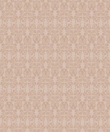 Seamless vintage floral background for design Stock Vector - 20950021