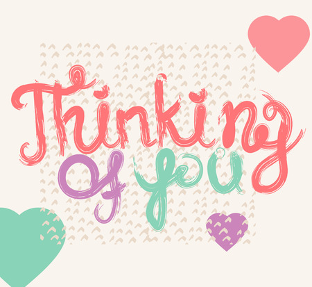 Valentine quote background. Love quote. Valentine day design, Hand drawn love quote, handlettering style Illustration