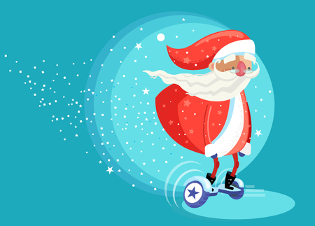 Modern Santa Clause Riding board or Electric Self Balancing Board