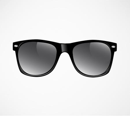 Fondo de ilustración de vector de gafas de sol