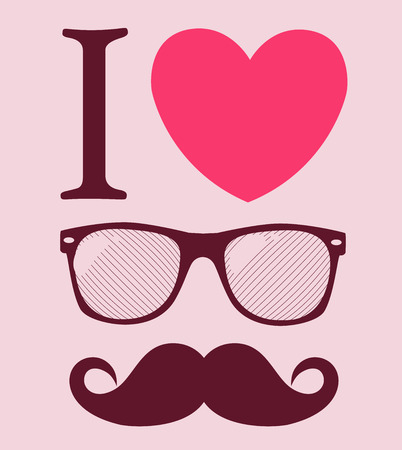 ray ban: print I love Hipster style, glasses and mustaches.