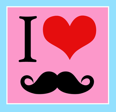 mustaches: I love mustaches, hipster style.