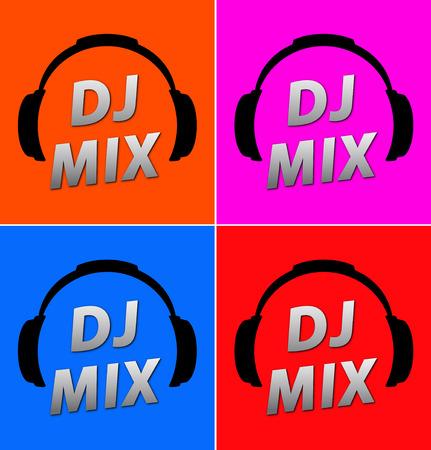 auriculares dj: Club de Dj Set folleto