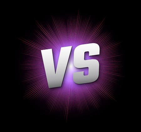 벡터 문자 일러스트 공모전 아이콘 VS VS 벡터 문자 그림 일러스트