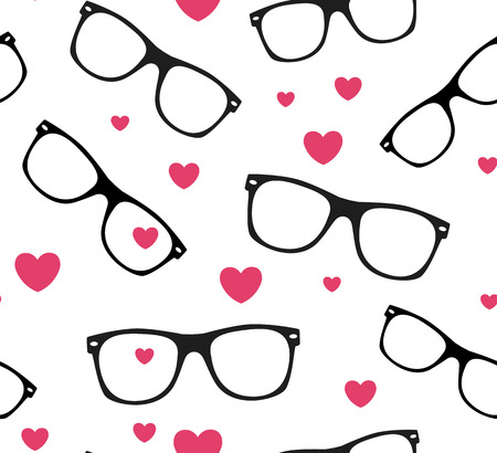 sunglasses: sunglasses and hearts background