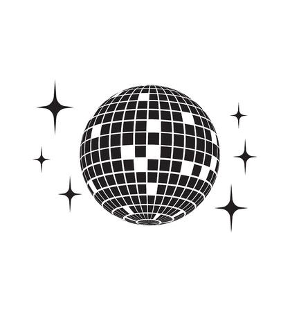 Disco icono de la bola del vector Foto de archivo - 68352595