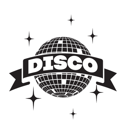 Disco ball Vector icon